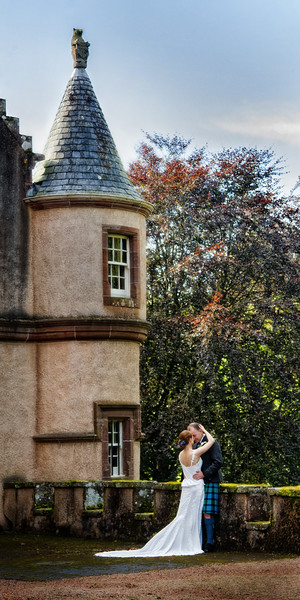 Fyvie Castle Wedding Photographs
