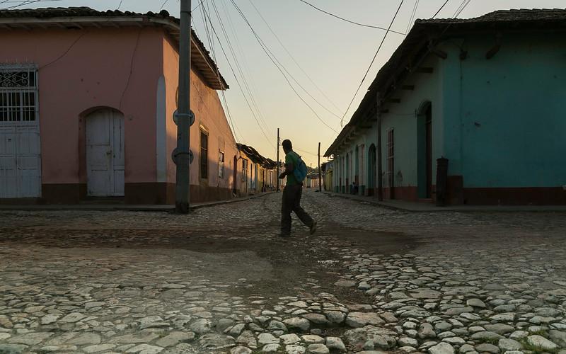 Trinidad Cuba Morning Rush