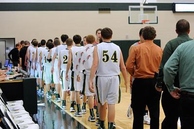 Boys Varsity Basketball - Gilbert 2013