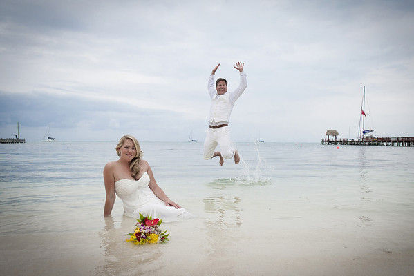 Laurence & Greg - Wedding - Belize - 13th of March 2013