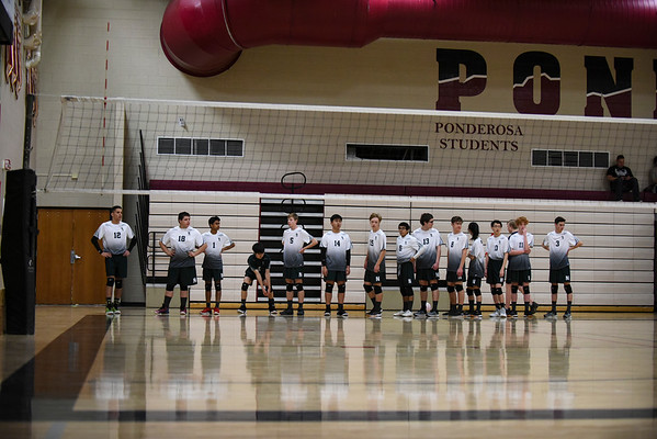 Boy's Volleyball Tournament at Ponderosa - 4/6/2019