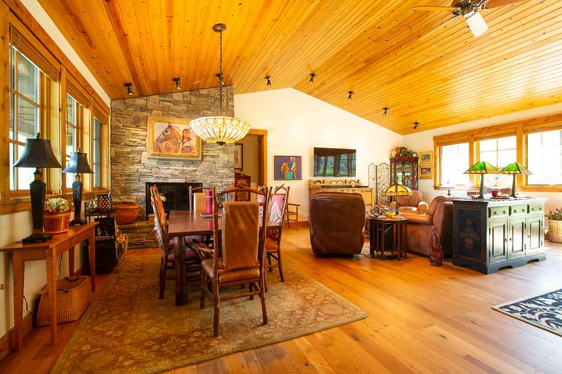 Hoback House interiors.