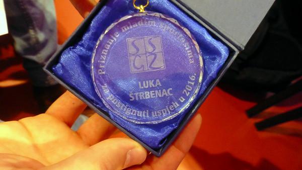Nagrada mladim sportašima 2016.