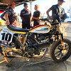 Thats the Lloyd Brothers Flat Track racer in the pits at the Lone Star Half Mile.