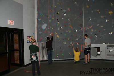 Staff Rock Climbing