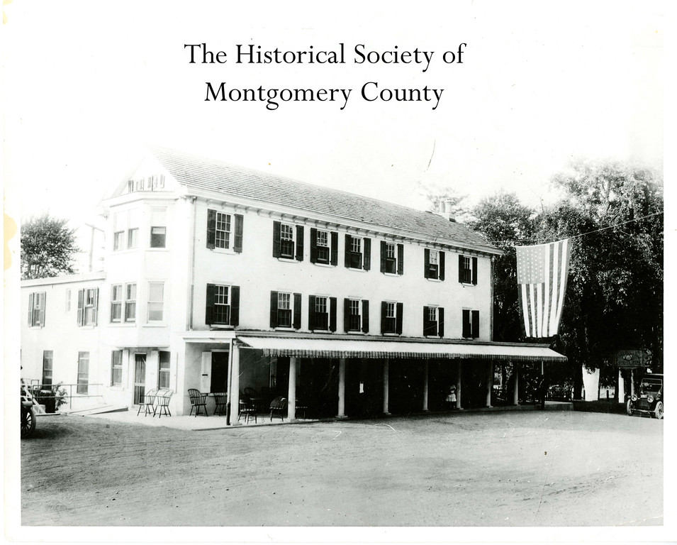 . This photo from the Historical Society of Montgomery County shows the Three Tuns Inn in Lafayette Hill circa the 1920�s.  It was the General Lafayette Inn for a long time and later became the Barren Hill Brewery and Restaurant.