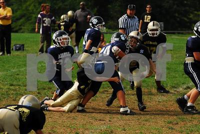 Wallkill Panther Stars vs Highland Falls Gold - Football - 9-14-08