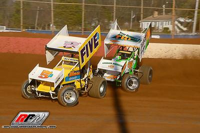 Lincoln Speedway - 4/8/17 - Chad Updegraff