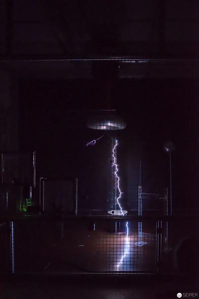 Tesla-Transformator Show