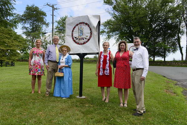 Dedication of Mellon Family Markers July 4, 2019