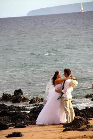 Melissa & Brad's Wedding Kihei, Maui