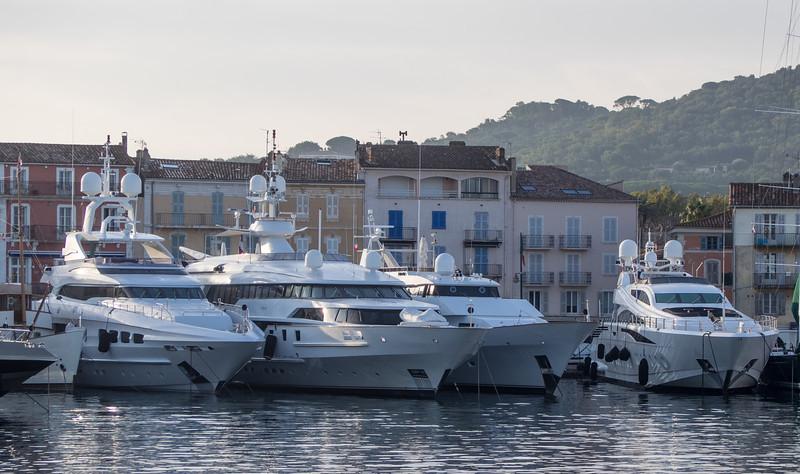 The tupperware navy! St Tropez