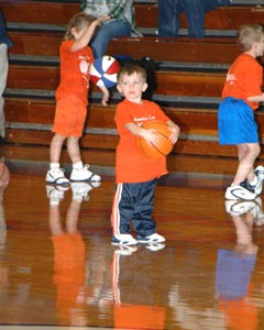 Preschool/First Grade Dribblers  -  December 16, 2005
