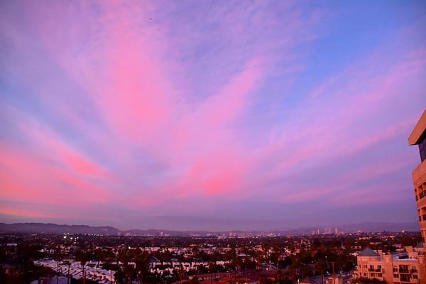 Marina Del Rey Sunsets ( January 2019)