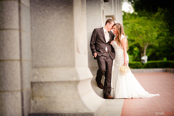 Salt Lake Temple Wedding Pictures (Highlights First)