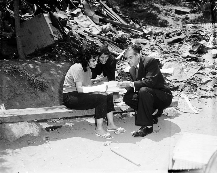1959, Eviction & Demolition