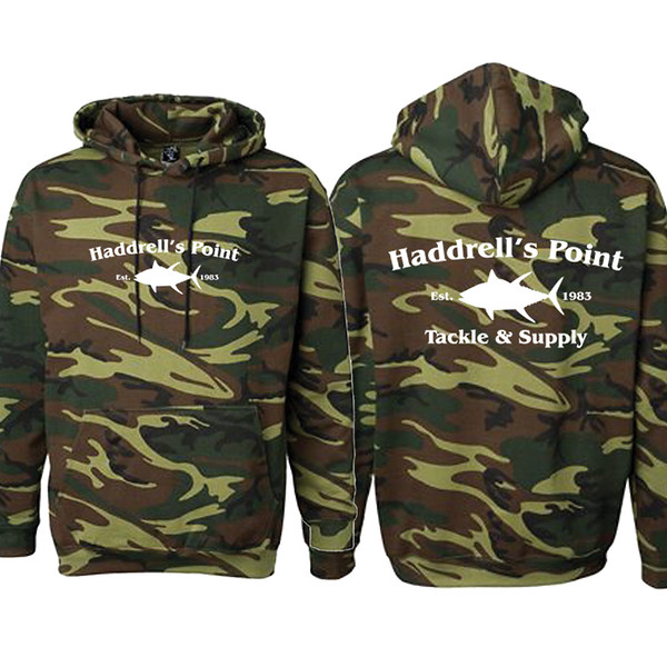 Haddrells Point Tackle ARMY CAMO HOODIE White Ink.jpg