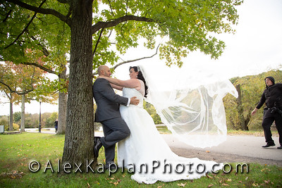 Wedding at Clove Lakes Park & Coptic Orthodox Church of Archangel & St. Mena in Staten Island, NY