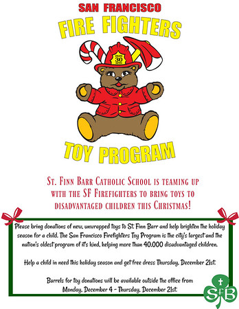 SFFD Toy Drive