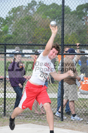 Lake Brantley Track and Field at Sp Creek 3-10-12