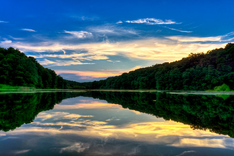 speedwell forge lake - reflection on water (p).jpg