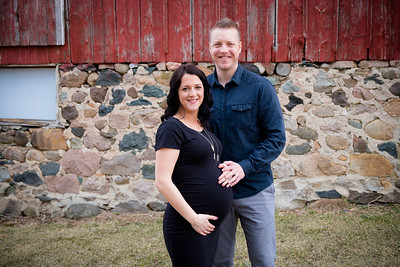 Leathers Maternity Session