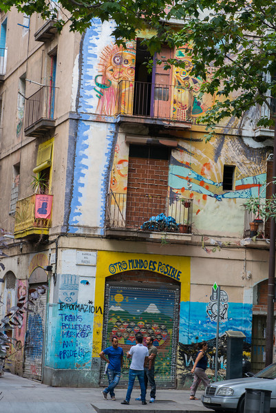 Near El Raval Barcelona