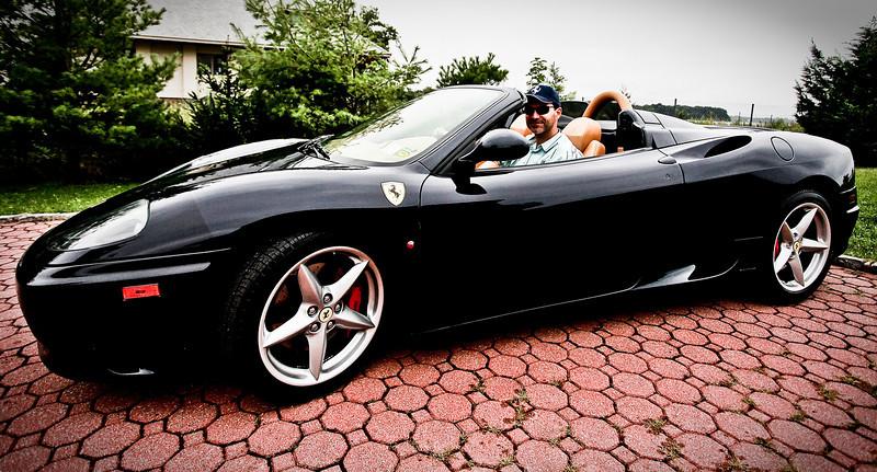 William's Ferrari