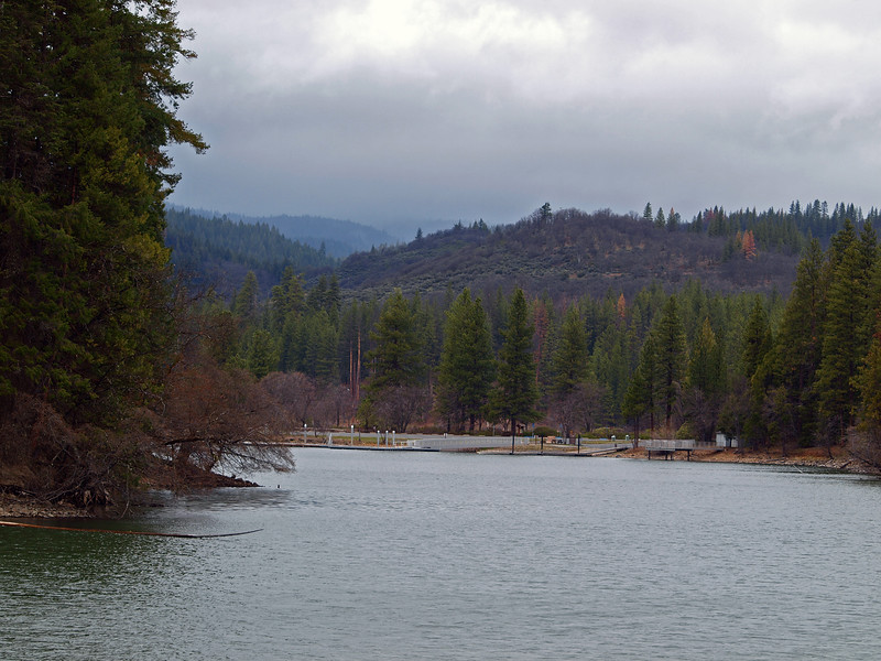Lake at Burney Falls
