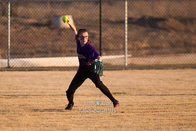 CCS JH Softball vs Crooked Oak, March 2