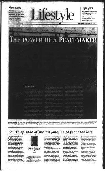 Daily Trojan, Vol. 150, No. 15, September 16, 2003