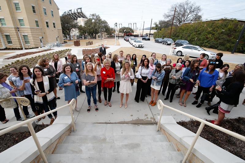 TCU Gamma Phi Beta House dedication in Fort Worth, Texas on February 17, 2018. (Photo by/Ellman Photography)