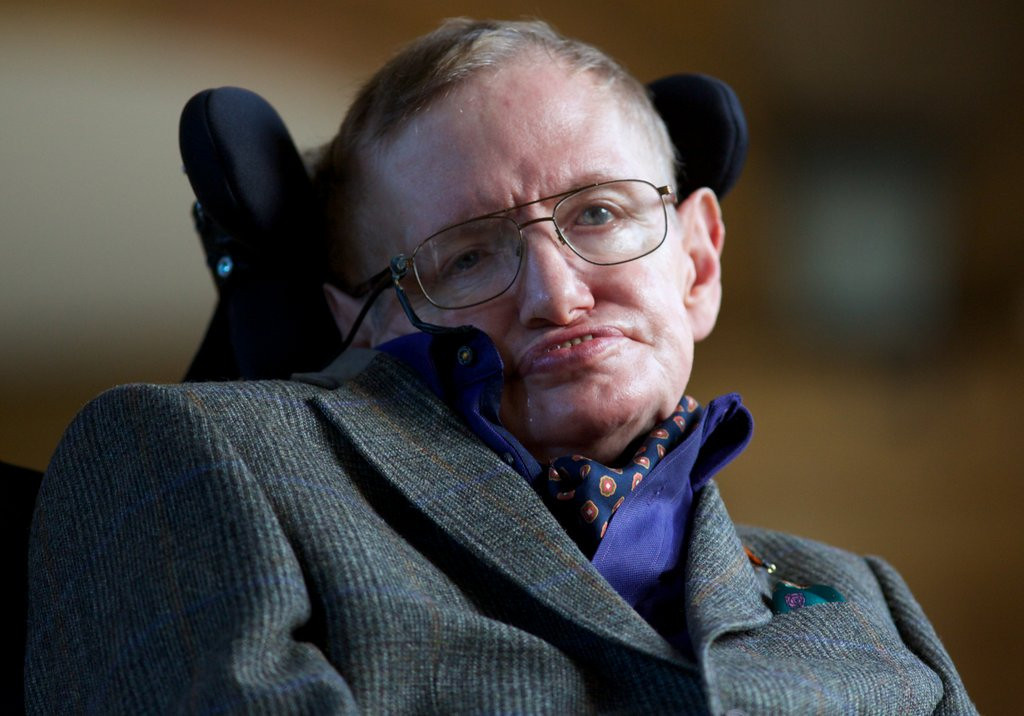 ". <p><b> The famed astrophysicist Stephen Hawking made news this week when he predicted that, in 50 years, we�ll all be living on this � </b> <p> A. Moon <p> B. Mars <p> C. Food stamps <p><b><a href=\'http://www.dailymail.co.uk/sciencetech/article-2582588/In-50-years-living-moon-way-Mars-Stephen-Hawking-claims-century-true-space-age.html\' target=""_blank\"">HUH?</a></b> <p>   (AFP photo/Andrew Cowie)"