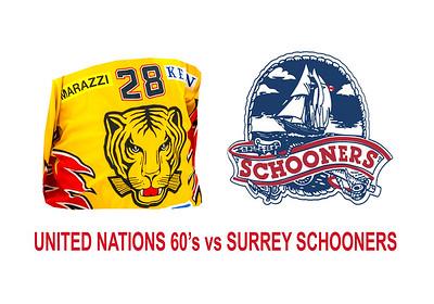 60A  UN60 vs Surrey Schooners