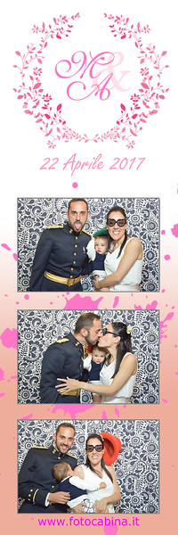 Photobooth matrimonio con Fotocabina Marianna e Angel