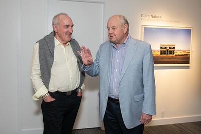 Cambridge Seven Gallery Opening for Peter Vanderwarker