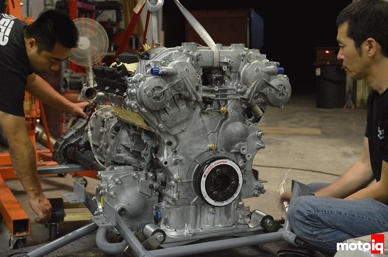 ark design team america bnr32 part 9 engine