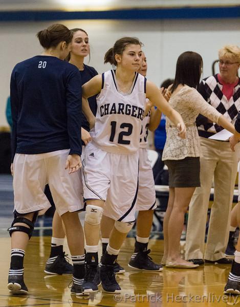 2013-01-12 Hillsdale College Women's Basketball vs. Ohio Dominican