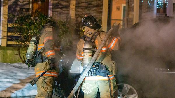 Vehicle Fire - City of Coatesville