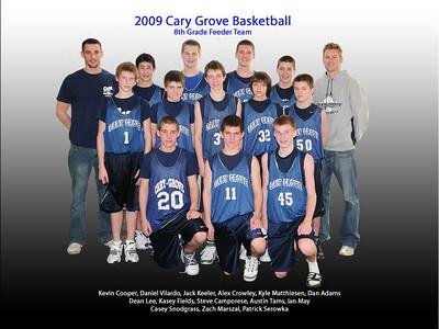 8th grade feeder - team picture