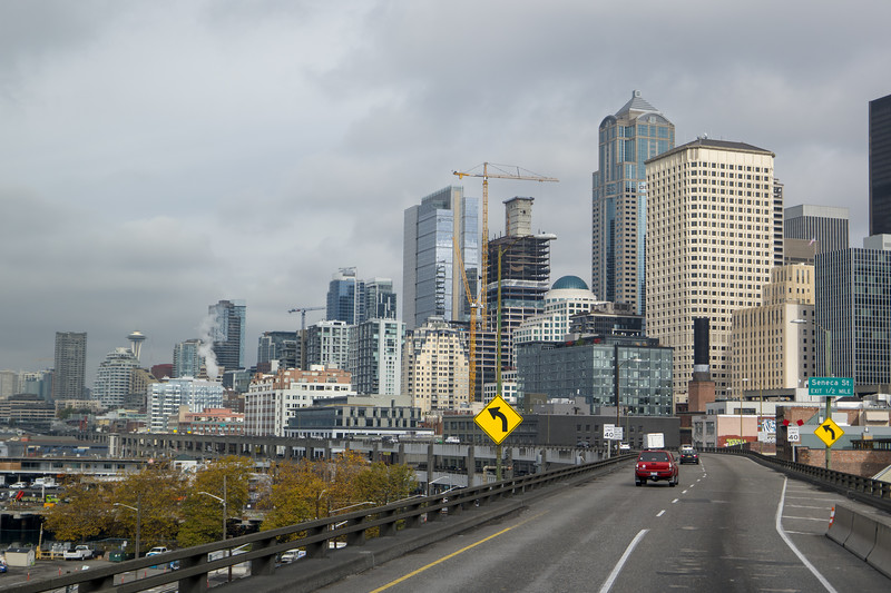 Seattle Cloudy Morning