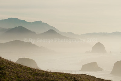 Haystack Rock, from Tolovana State Park