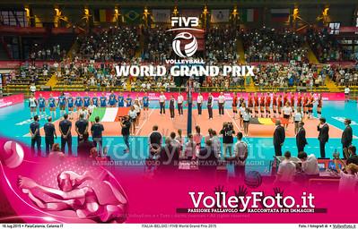 ITALIA - BELGIO | FIVB World Grand Prix 2015
