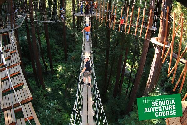 SFPUC - Sequoia Adventure Course - August 12, 2015