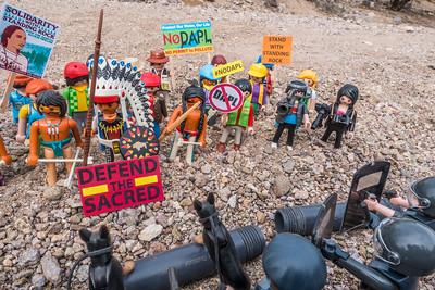 Playmobil Anti-DAPL Protests