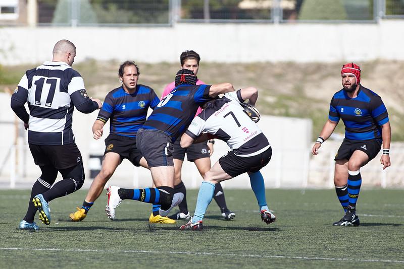 I.Industriales B vs Madrid Barbarians: 15-18