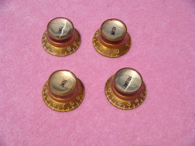 60's Gibson Reflector knobs