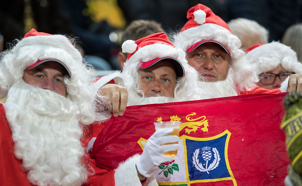 British & Irish Lions Fan during game 8 of the British and Irish Lions 2017 Tour of New Zealand,The match between  Hurricanes and British and Irish Lions, Westpac Stadium, Wellington, Tuesday 27th June 2017 (Photo by Kevin Booth Steve Haag Sports)  Images for social media must have consent from Steve Haag