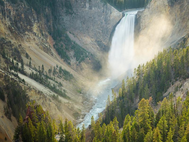 Upper Falls, Yellowstone River, Wyoming