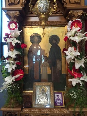05.03.16 Saints Raphael, Nicholas and Eirene of Lesvos
